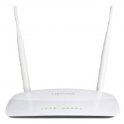 Wi-Fi роутер UR-326N4G Arctic white UPVEL 300 Мбит/с, USB 2.0 -