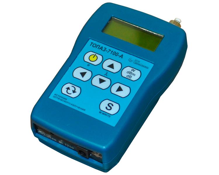 Источник оптической мощности 7105-A Топаз